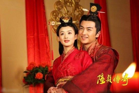 胡歌刘亦菲吴奇隆刘诗诗 那些红透半边天的荧幕情侣