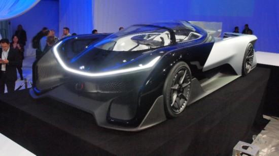 جديد السيارات فاراداي فيوتشر فيزيرو
