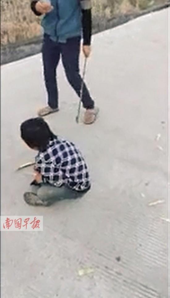 相关新闻 小男孩遭抽打后被扔进水田 事发灵山县旧州镇,5名打人者最大
