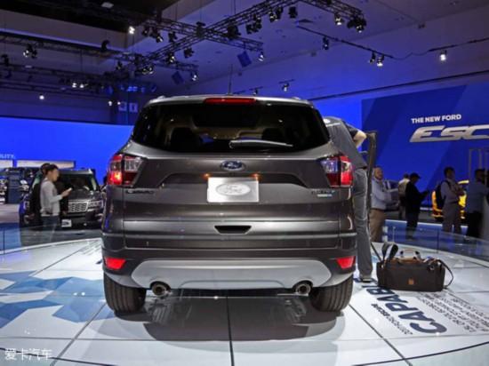 2015洛杉矶车展:福特新款翼虎正式发布