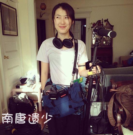 冯小刚24岁女儿近照曝光:皮肤白皙 外形清秀