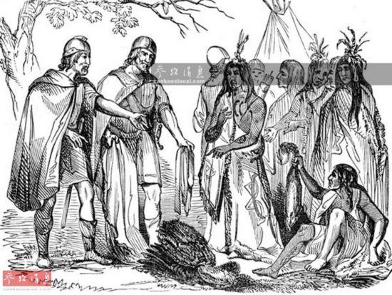 古罗马军团远征美洲 或比维京海盗早