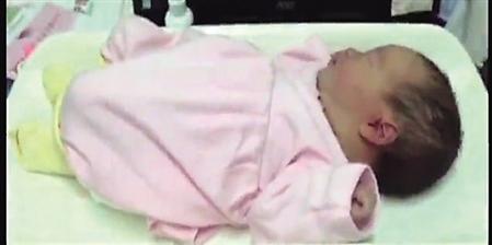 女婴出生四五个小时被弃花坛寒风中仅裹毛巾(图)