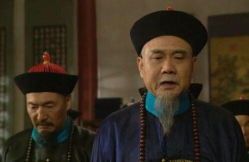 廖丙炎在《雍正王朝》中饰演佟国维  资料图