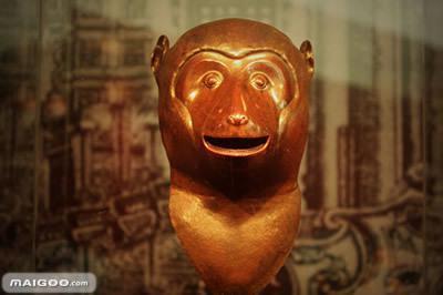 5、圆明园十二生肖兽首铜像——猴首-圆明园十二兽首去向追踪 蛇首等