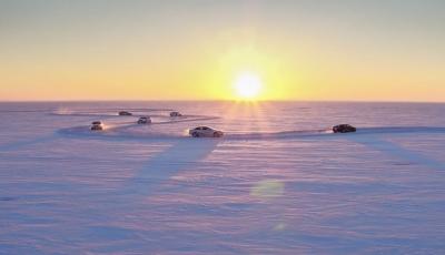 冬季查干湖