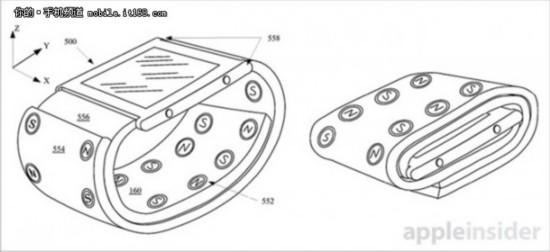 苹果新专利曝光 磁性表带可秒变保护壳
