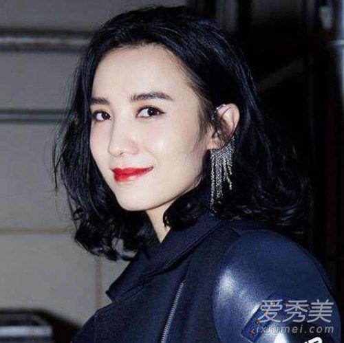 高圆圆杨幂小宋佳在各种发型间自由切换的泡面头烫毁了怎么办图片