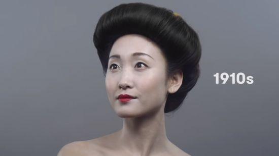 盘点日本女性妆容变化:从古典到萝莉