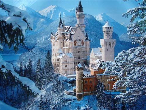 欧洲最浪漫的建筑