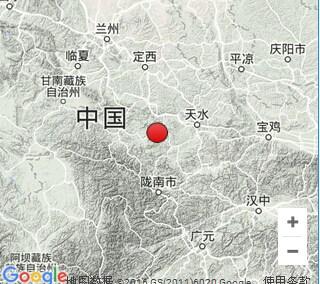 甘肃陇南市礼县发生4.0级地震震源深度14千米