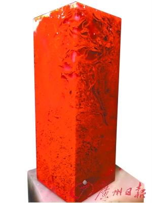 桂林鸡血玉材质可圈可点 品位尚有不足