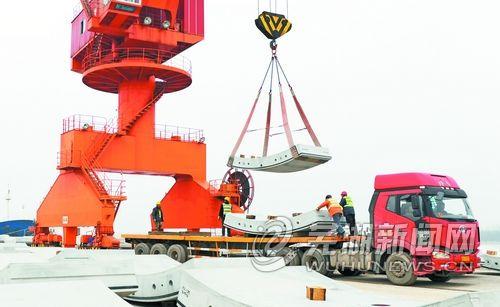 芜湖金山港吞吐量突破20万吨