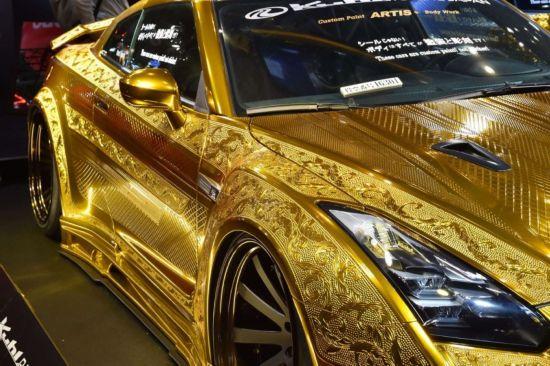 东京汽车美容展 闪瞎眼的节奏