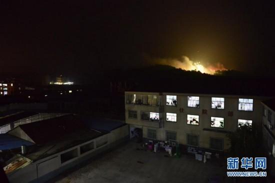 (突发事件)(1)江西上饶市广丰区发生一起花炮厂爆燃事故