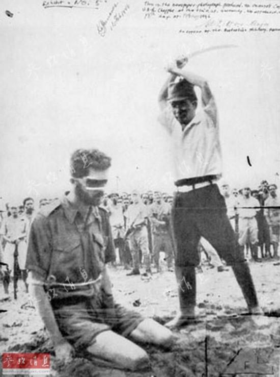 兵被捕后遭日军斩首.-好斗袋鼠 澳大利亚军队曾遭志愿军痛击