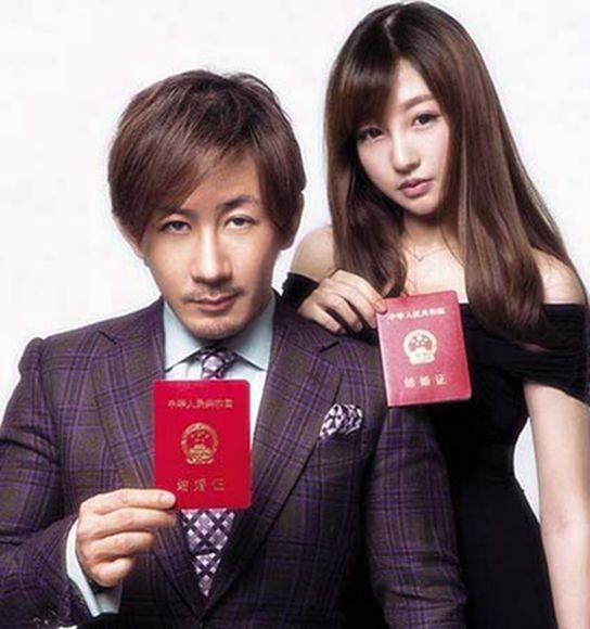刘谦升级当爸爸 刘谦与老婆王希怡恩爱照揭王希怡个人资料