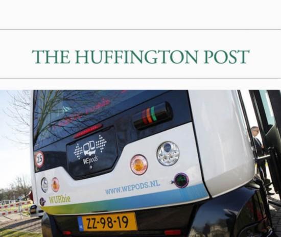荷兰将推出无人驾驶电动公交车高清图片