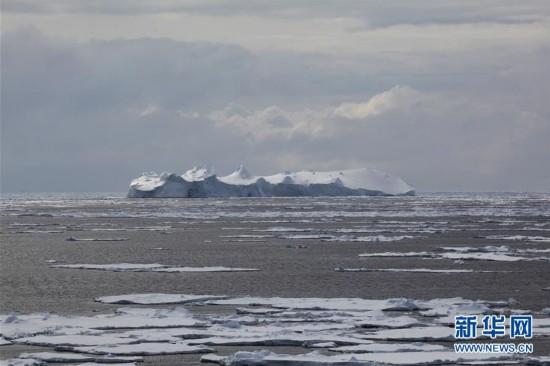 (第32次南极科考)(1)印象南极:冰山奇观