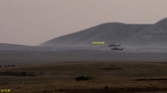 反坦防空全能:直10发射天燕导弹摧毁飞行目标(组图
