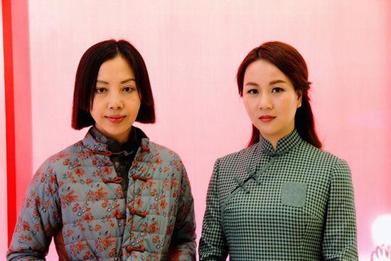 穿着若离诗歌首款诗歌旗袍亮相中国图片春晚招v穿着诗人情趣用品图片