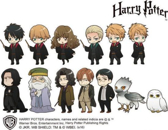 《哈利·波特》出官方日漫形象 q版超可爱