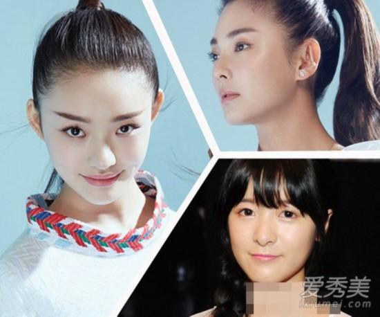 《美人鱼》林允张雨绮斗艳 发型PK谁是最美星女郎