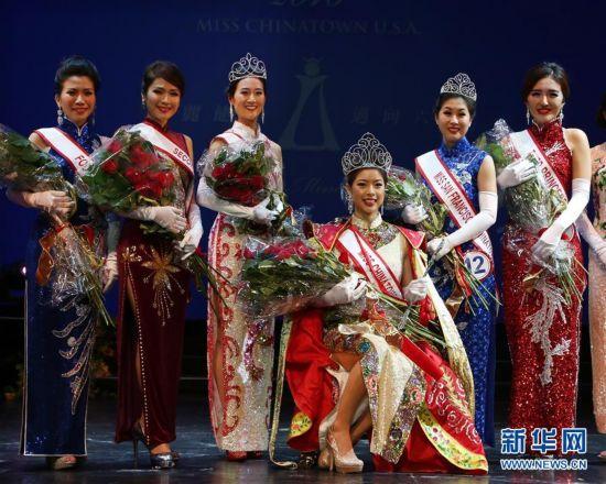 "(XHDW)(3)旧金山举办年度""全美华埠小姐""选美比赛"