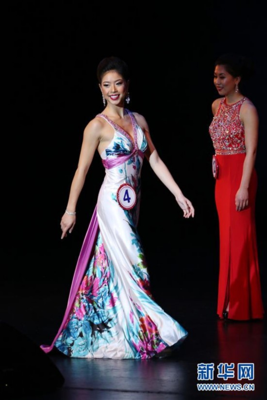 "(XHDW)(2)旧金山举办年度""全美华埠小姐""选美比赛"