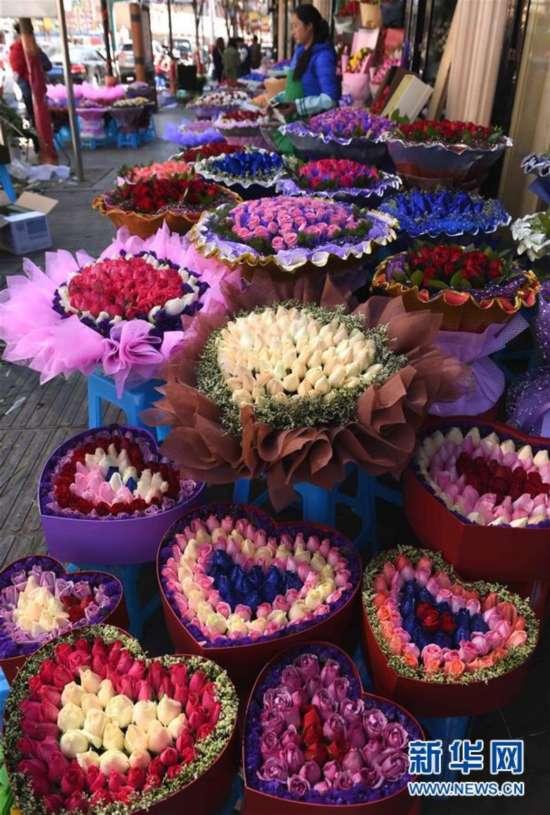 (经济)(2)鲜花飘香情人节