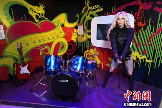 麦当娜香港将开唱真人蜡像搬至演唱会现场(图)