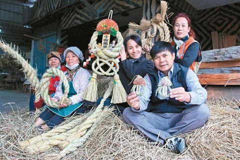 稻草变黄金台部落妇女用草绳做饰品热销岛内外