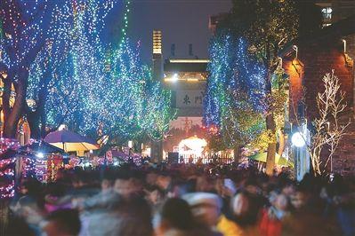春节7天长假南京老门东共接待52万各地游人
