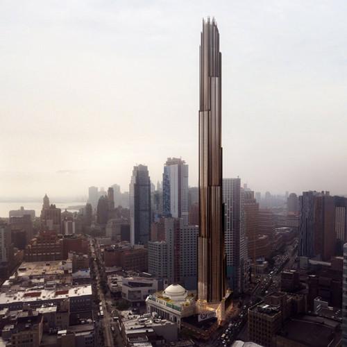 纽约布鲁克林欲建纽约最高塔高度达约325米(图)