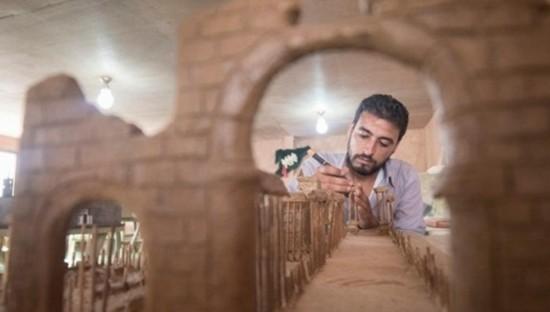 叙利亚难民用艺术重建该国伟大地标
