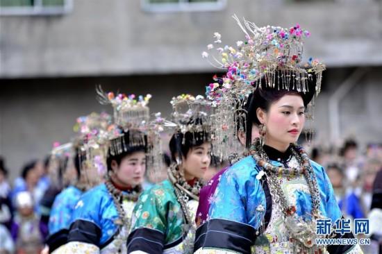 贵州侗寨:吃相思 秀盛装