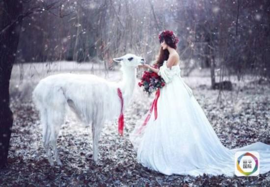 俄罗斯摄影师用照片还原童话世界
