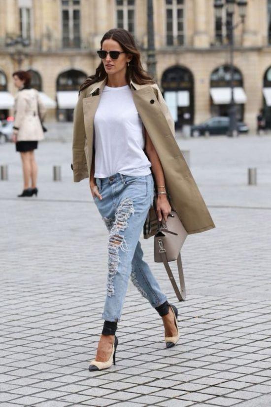 时尚时尚最时尚!破洞牛仔裤才是2016最in的时尚单品 教你出明星范