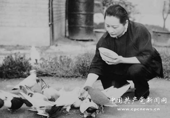 原标题:宋庆龄:抗战时期曾协助斯诺陕北采访     1981年5月29日