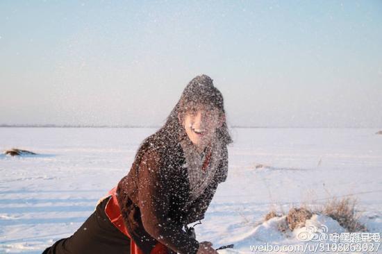 网友《神雕》神剪辑 刘亦菲配吴磊不违和
