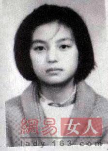 赵薇/少女时期的赵薇,眼睛五官和现在一样,也是个天然美人,她这个时期...
