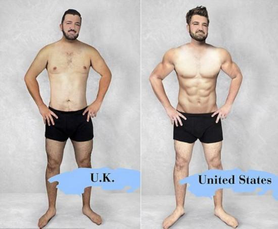 中国男人标准身材图_男子标准体重对照表看看你的身材标准吗社