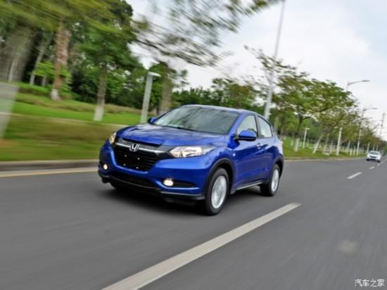 广汽本田 缤智 2015款 1.5L CVT两驱舒适型