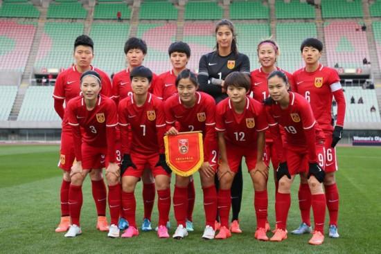 高清:2016女足奥预赛 中国队2-0力克越南取得