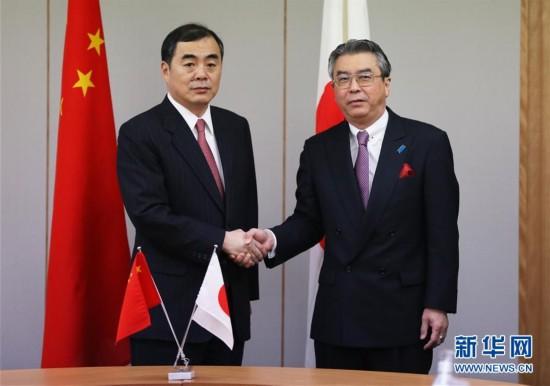 (国际)中日外交当局举行定期磋商