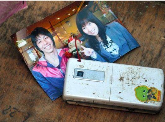 志愿者办3.11地震摄影展照片女主角现身报平安