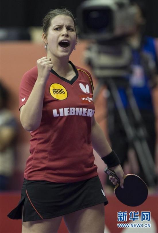 (体育)(1)乒乓球――世锦赛团体赛:德国女队胜日本
