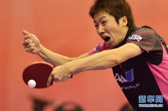 2016世界乒乓球团体锦标赛:武汉男队胜葡萄牙日本端午节龙舟图片