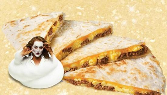好莱坞女星完美 融入 食物中 美味诱人(组图)--国
