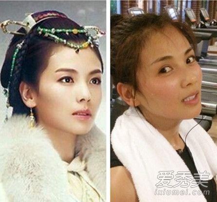 《琅琊榜》最美不止刘涛 11位女配角素颜都很赞